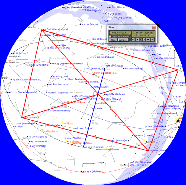 Pawnee Star System Of Fletcher Interpreted By Kaulins Starry Night Pro