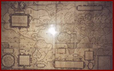 Mercator Museum Old World Map